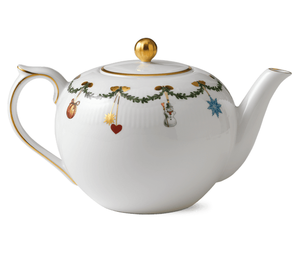 Star Fluted Tea Pot
