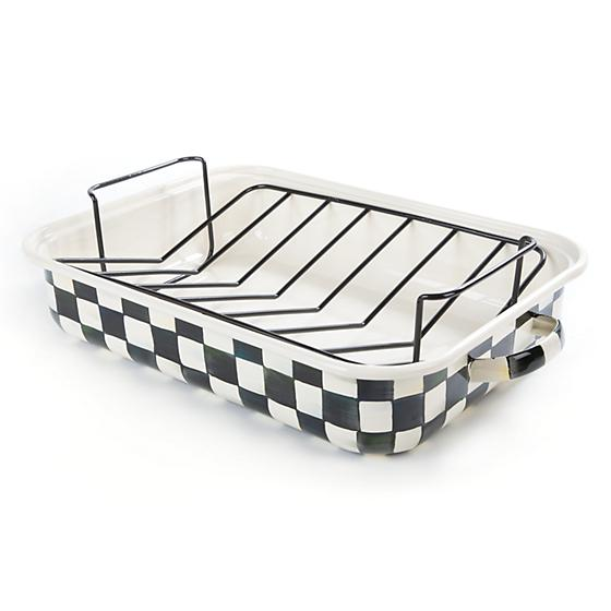 CC Enamel Roasting Pan w/Rack