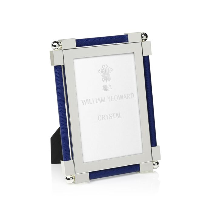 Dark Blue Shagreen Picture Frame