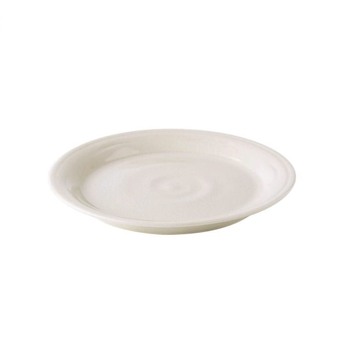 Belmont Side Plate, Crackle Ivory