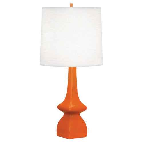 Jasmine Table Lamp, Pumpkin