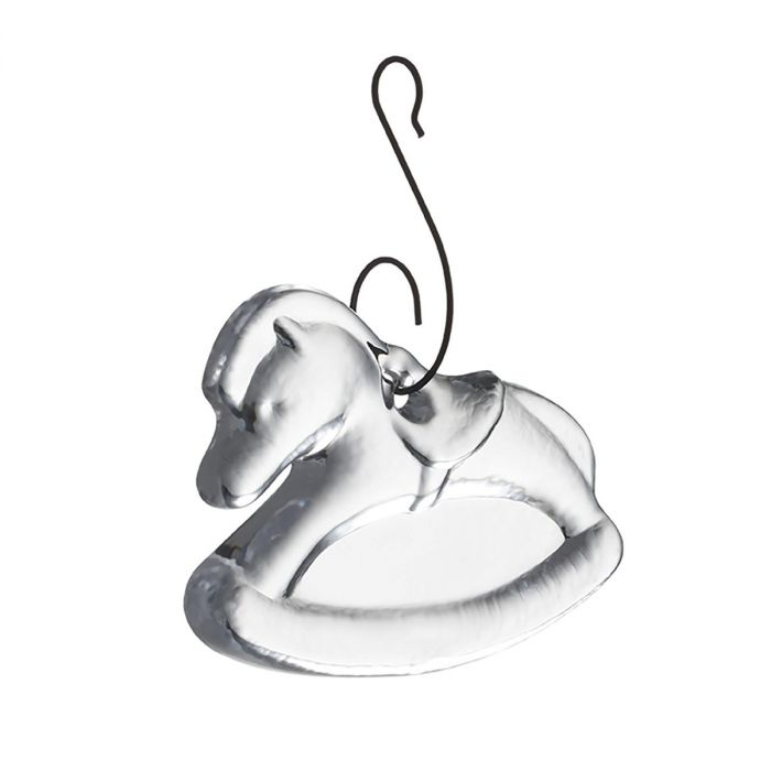 Rocking Horse Ornament w/ Gift Box
