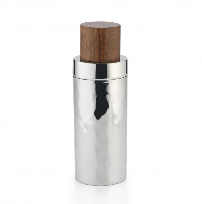 Sierra Cocktail Shaker w/ Wood Lid