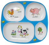 Farm Animal Child 3 Piece Set