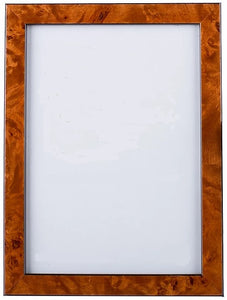 "Chestnut Burl Picture Frame, 5"" x 7"""