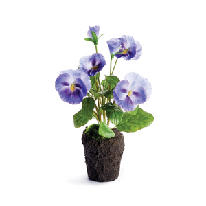 "Pansy Drop-In 11.5"" Violet"