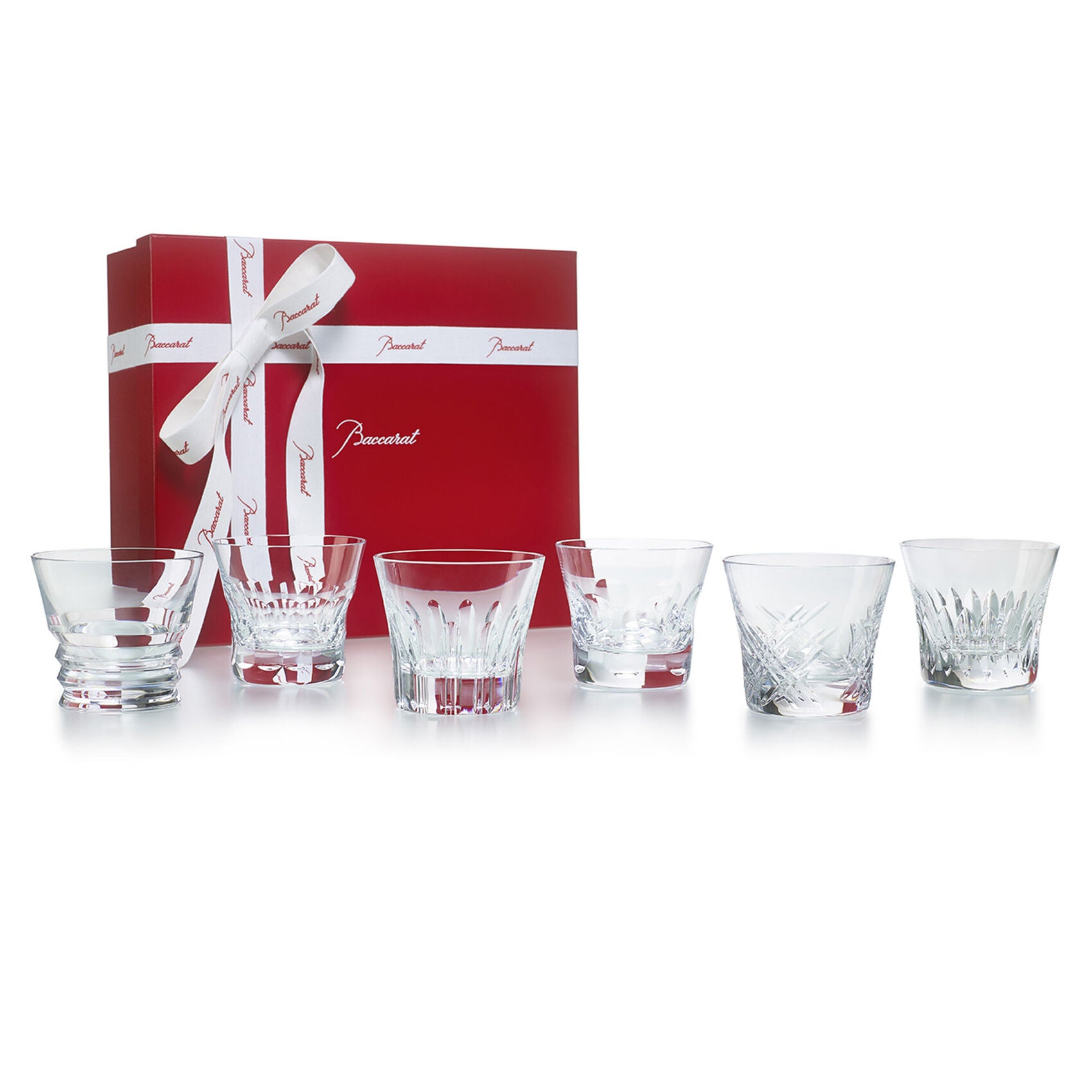Everyday Baccarat Old Fashioned Tumblers, Set of 6