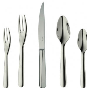 Equilibre 5pc Placesetting, Stainless Steel