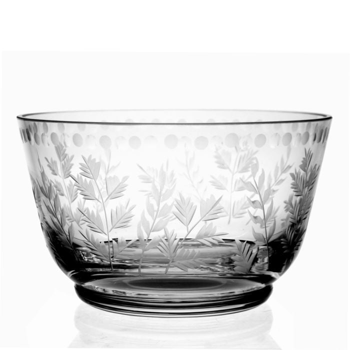 Fern Berry Bowl Clear