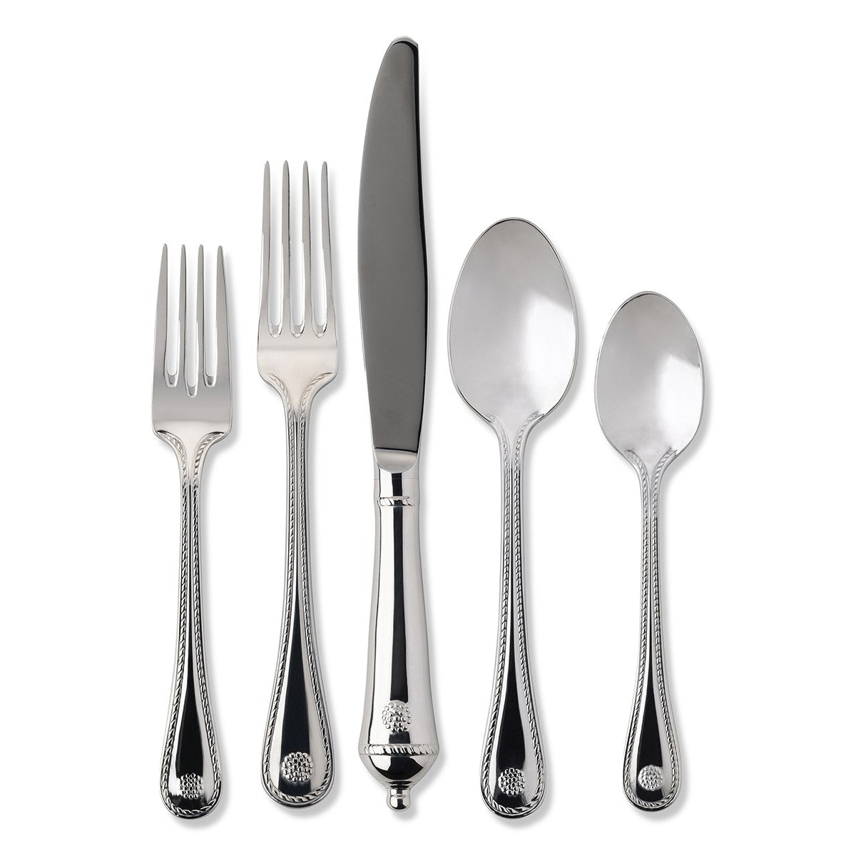 B & T Polished 5 Piece Place Setting