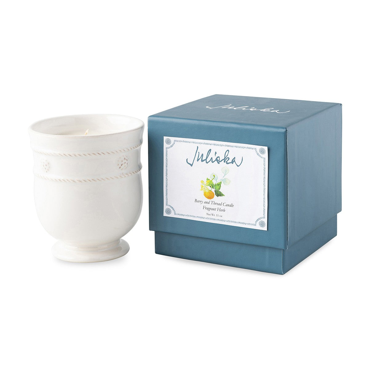 B&T Whitewash Fragrant Herb Candle