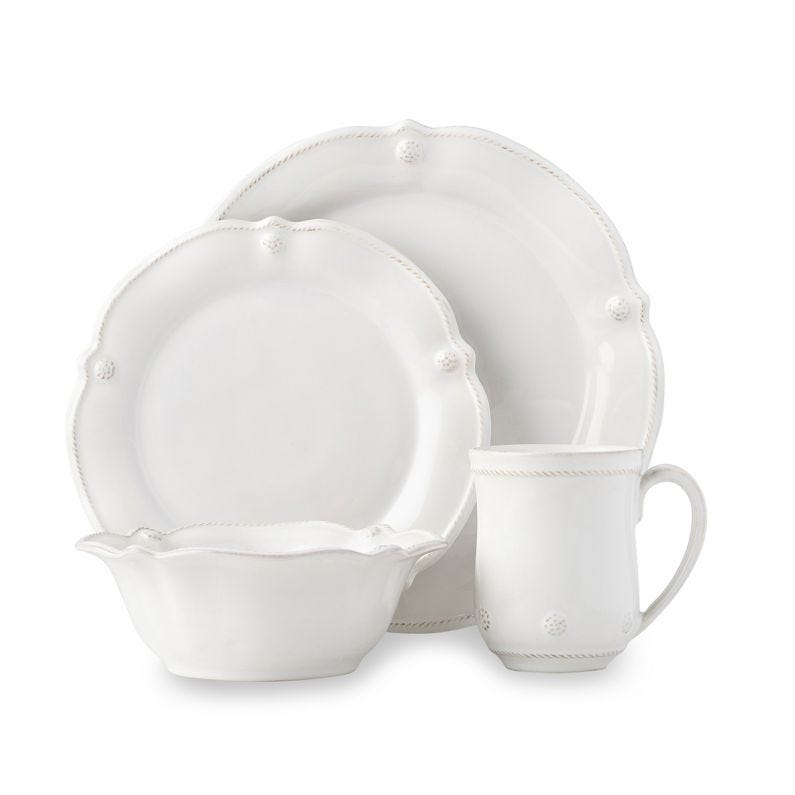 B & T Flared Dinnerware