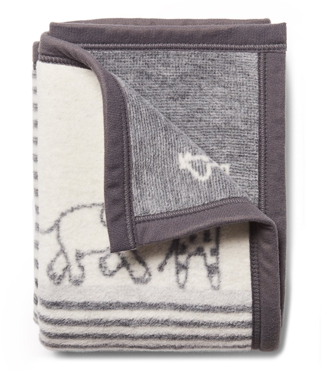 Jungle Walk Mini Grey Blanket