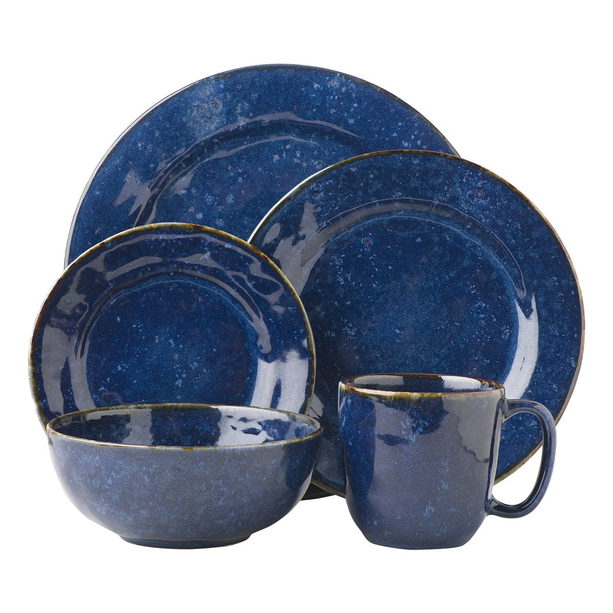 Puro Dappled Cobalt Dinnerware