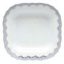 Light Blue Fish Scale Serveware