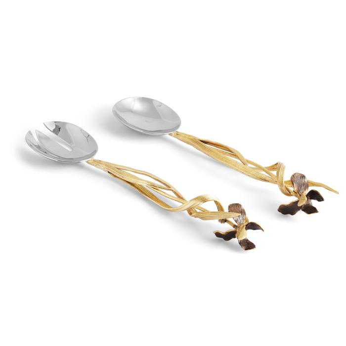 Black Iris Serving Set