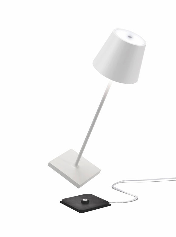Poldina Pro Table Lamp, White