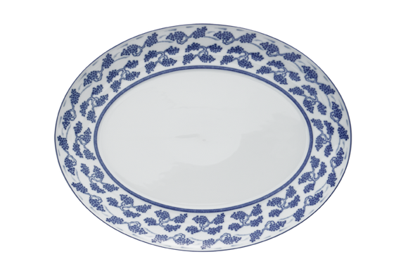 Blue Shou Platter, Large