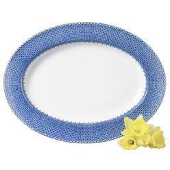 Blue Lace Serveware