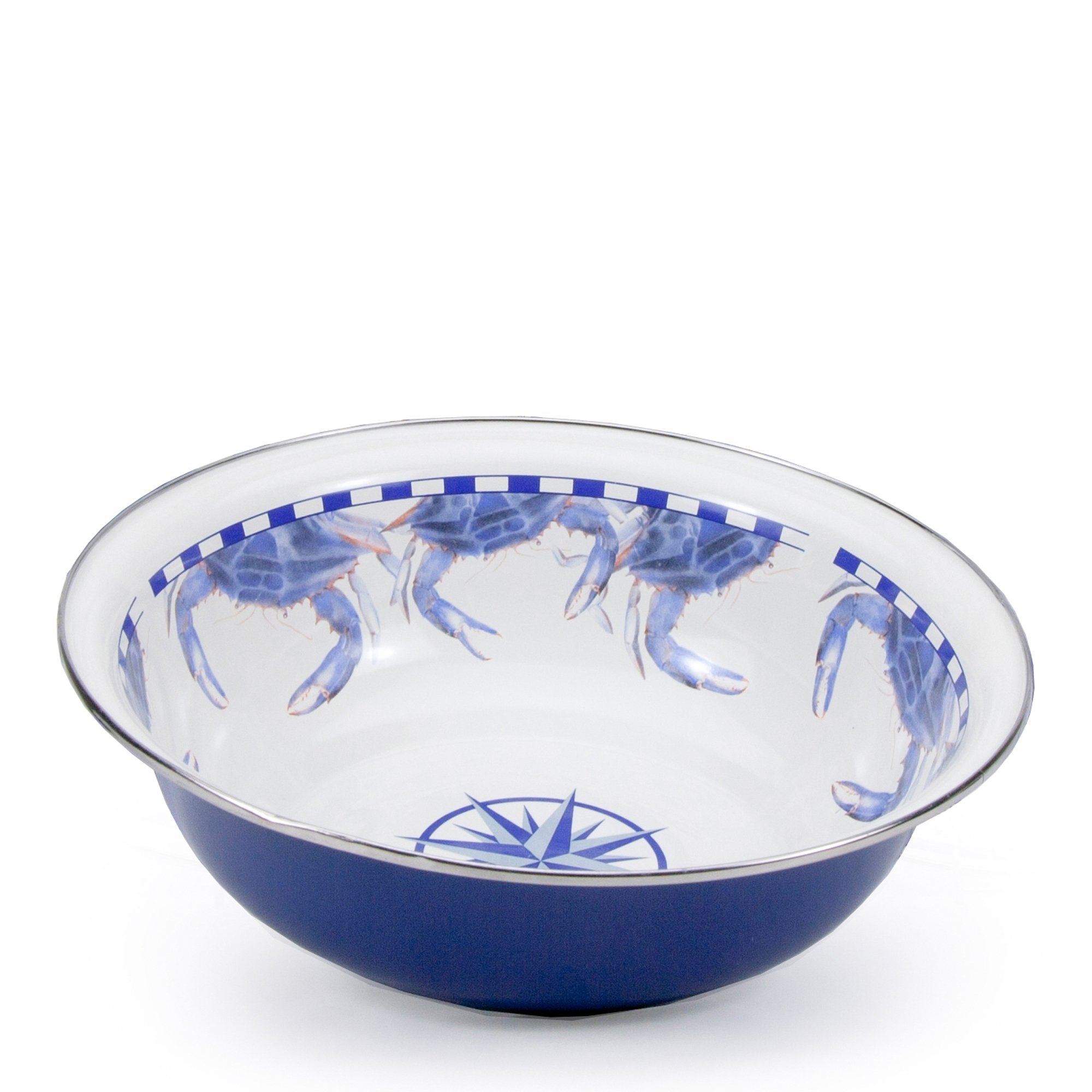 Blue Crab Serving Basin