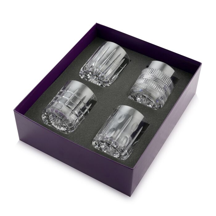 Skye Box of 4 Whisky Tumblers