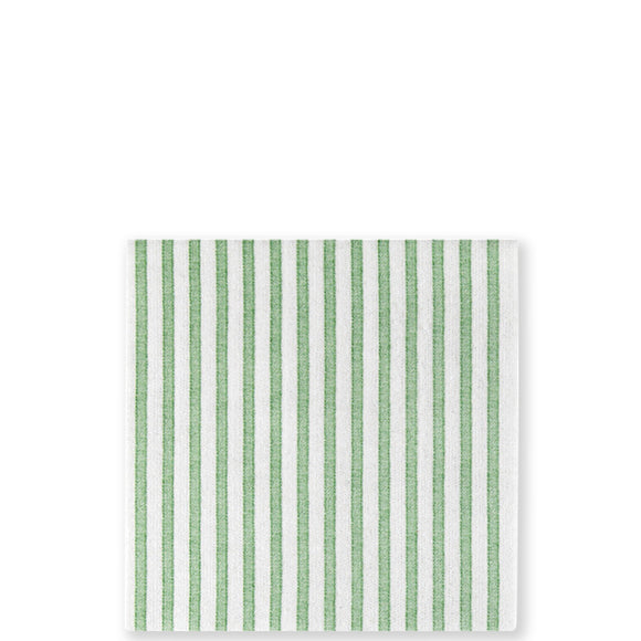 Capri Green Cocktail Napkins, Papersoft