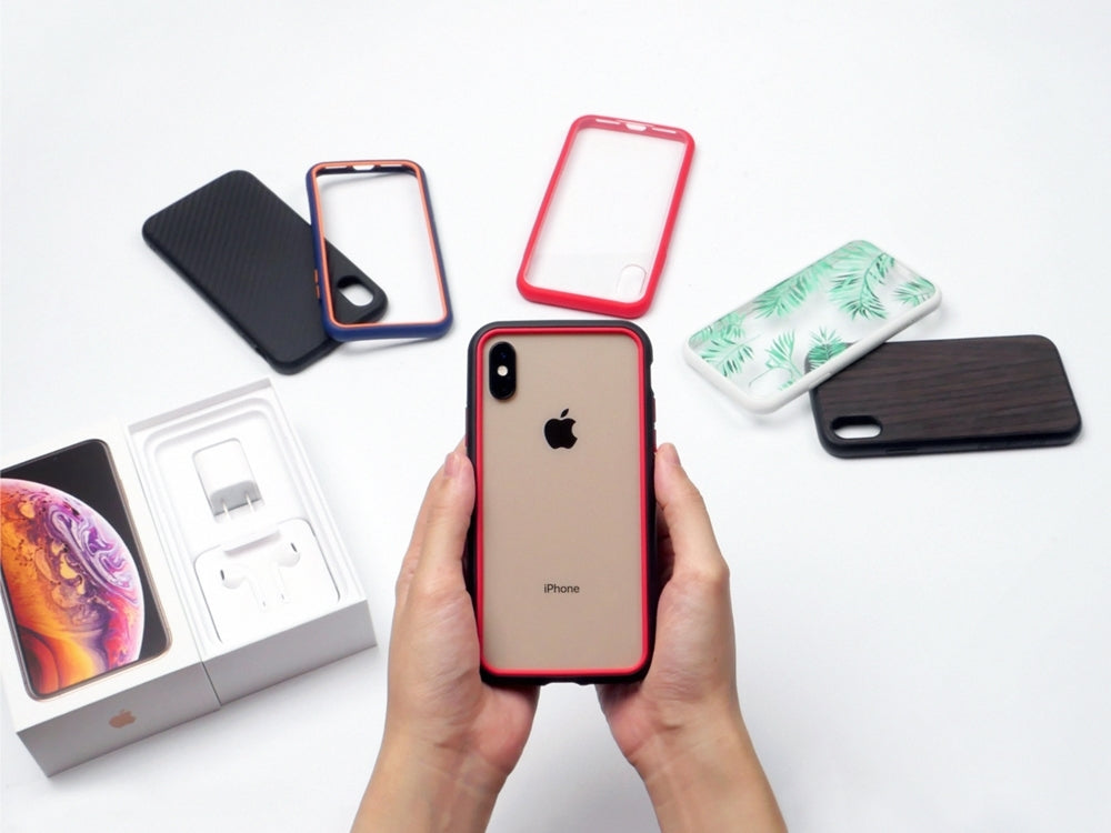 sale retailer f0f25 f8a2c Unboxing the New iPhone XS / XS Max Cases! – RhinoShield by ...