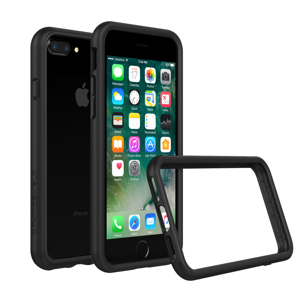 lowest price d3f8b b2249 RhinoShield CrashGuard Bumper - iPhone 7 Plus