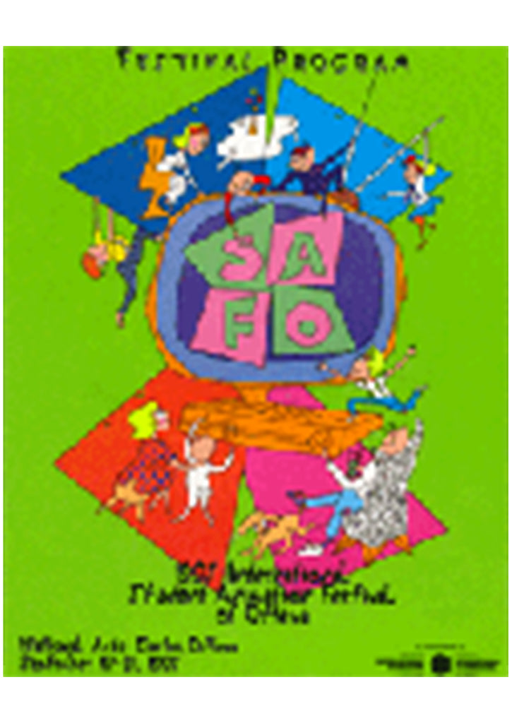 1997 OIAF Poster by Romi Caron