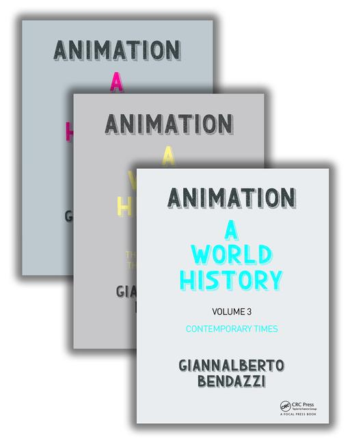 Animation: A World History, Complete, 3 volumes
