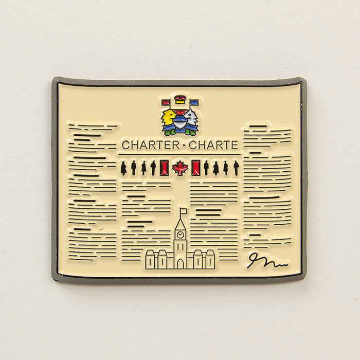 Charter of Rights Pin