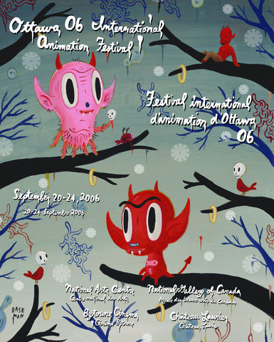 OIAF 2006 Poster-designed by Gary Baseman