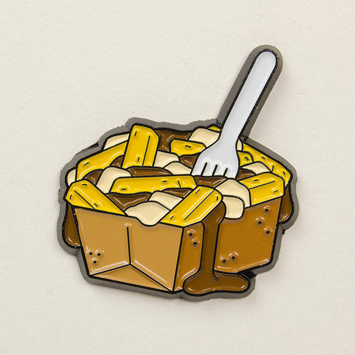 Poutine Fries Pin