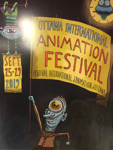 2019 OIAF Poster by Steve Angel