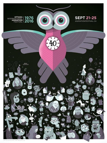 2016 Official OIAF Poster
