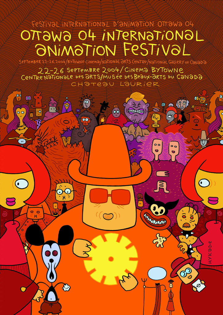 OIAF 2004 Poster- designed by Andreas Hykade