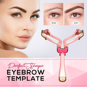 【50% OFF】Adjustable Eyebrow Shape Template