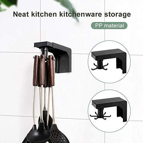 Kitchen Nail-free Rotating Shelf