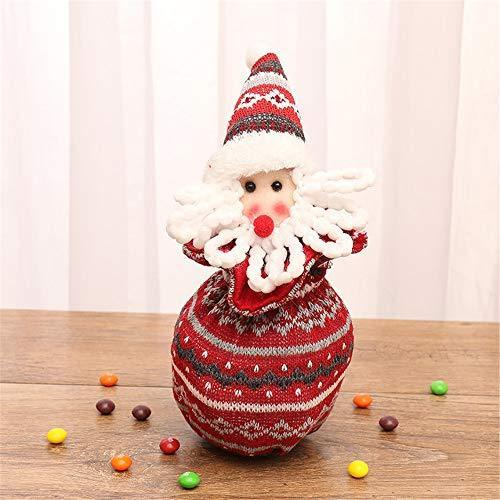 【50%OFF...Limited Quantity】 Christmas Eve Knitted Apple Bag