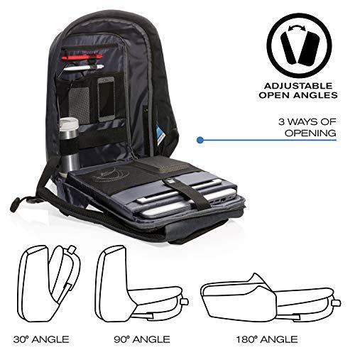 Anti-theft charging backpack