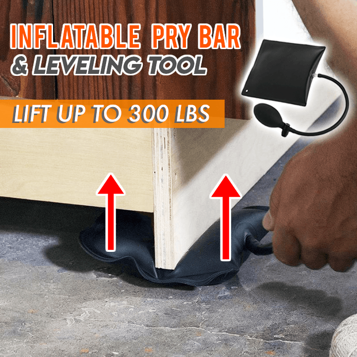 Inflatable Pry Bar & Leveling Tool