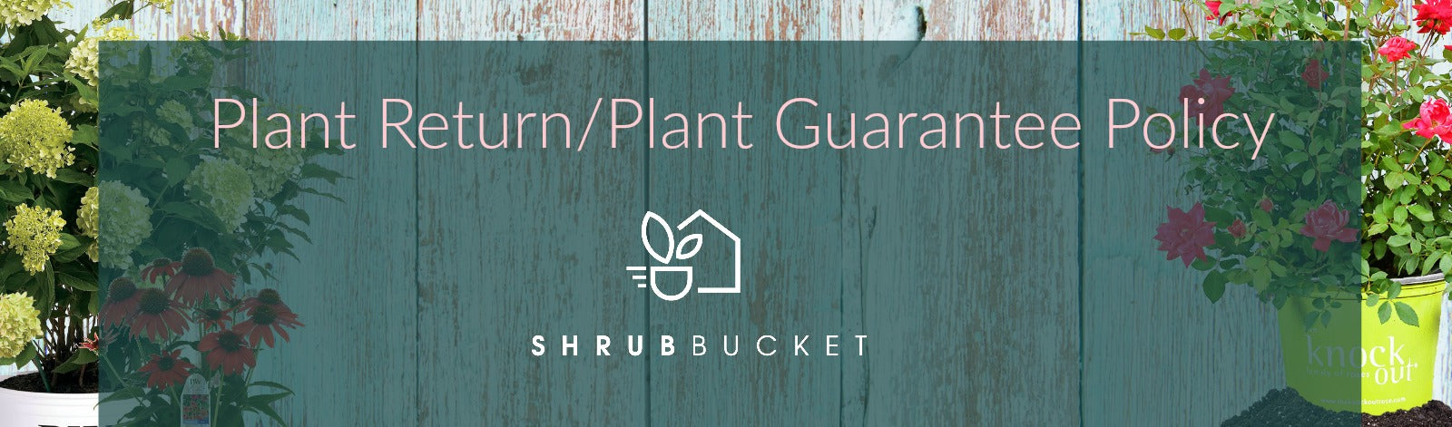 ShrubBucket Refund Plant Guarantee Policy