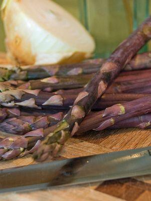 Purple Passion Asparagus - #1