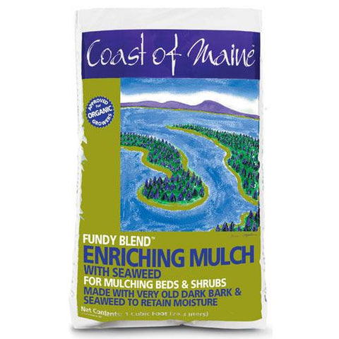 Enriching Bark Mulch & Seaweed (Fundy Blend) 2cf Bag