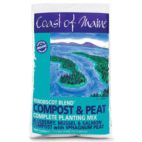 Coast of Maine Complete Planting Mix (Penobscot Blend) 1cf Bag