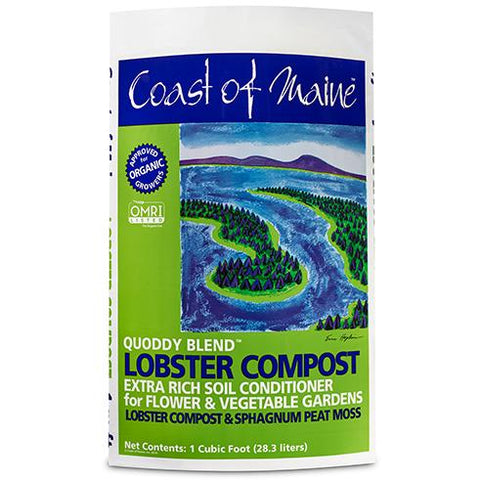 Coast of Maine Lobster Compost (Quoddy) 1cf Bag