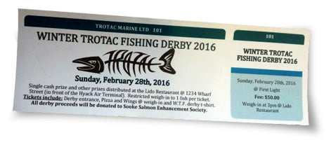 1st Annual Trotac Marine Winter Fishing Derby