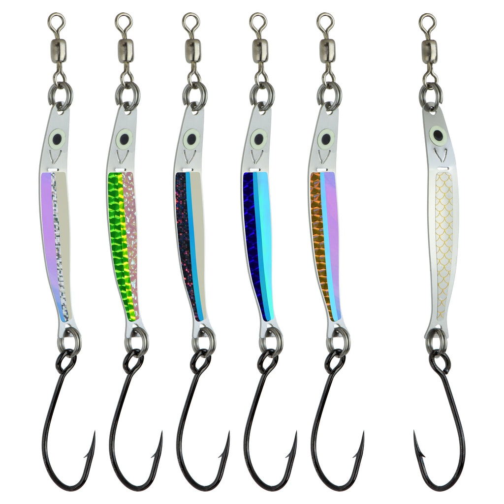 "Spring Smasher 2.5"" Needlefish Spoon Pack"