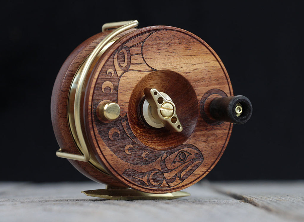 "Artist Series 3.5 Inch ""Trout"" (Engraved) Fly Reel"