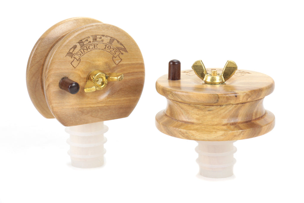 PEETZ Handcrafted Wine/Spirit Bottle Stoppers